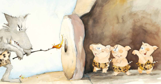 tre porcellini