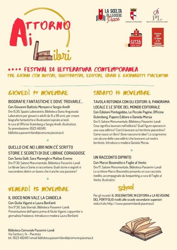 Attorno ai Libri - Festival